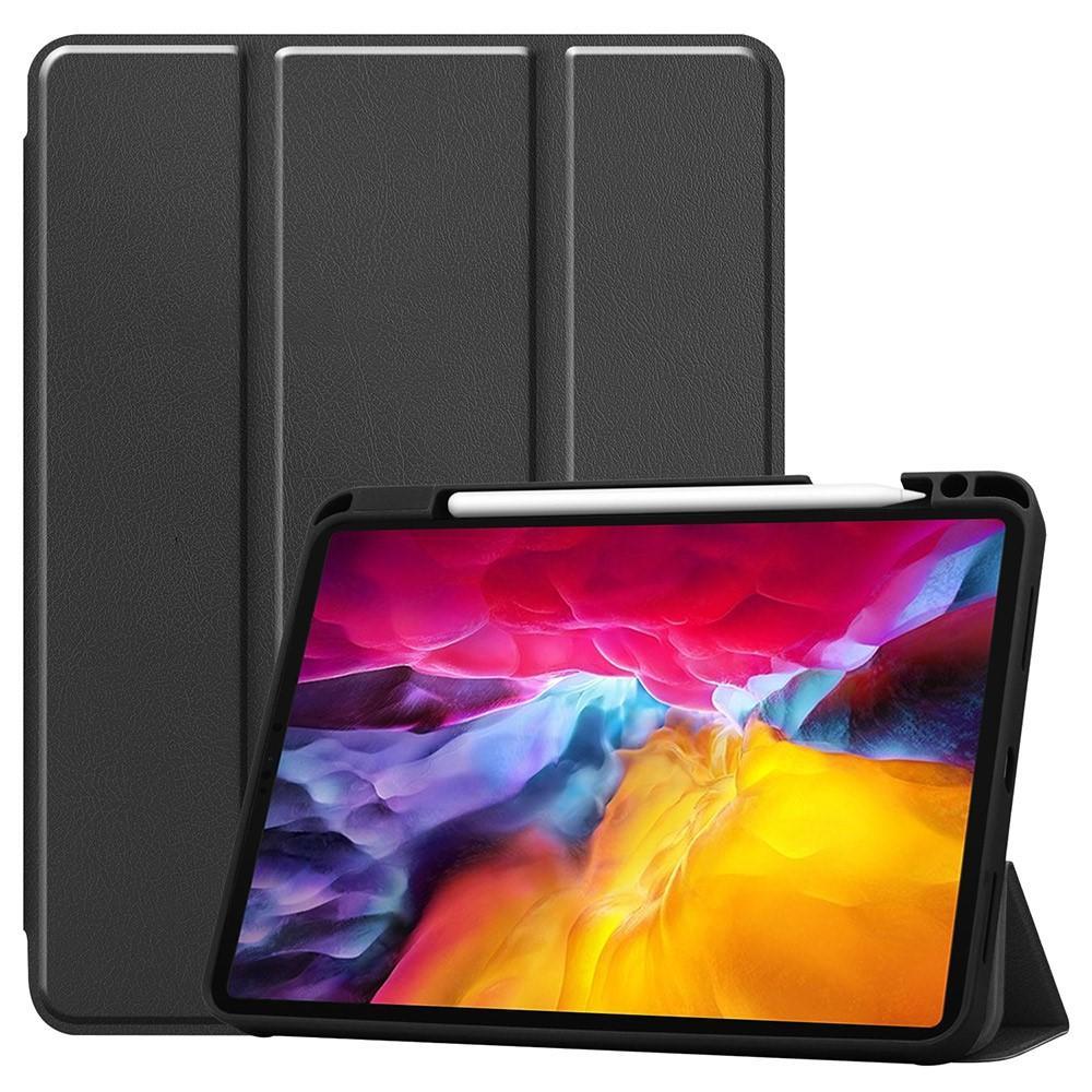Fodral Tri-fold med Pencil-hållare iPad Pro 11 2021 svart