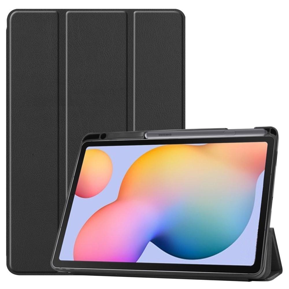 Fodral Tri-fold med S Pen-hållare Galaxy Tab S6 Lite 10.4 svart