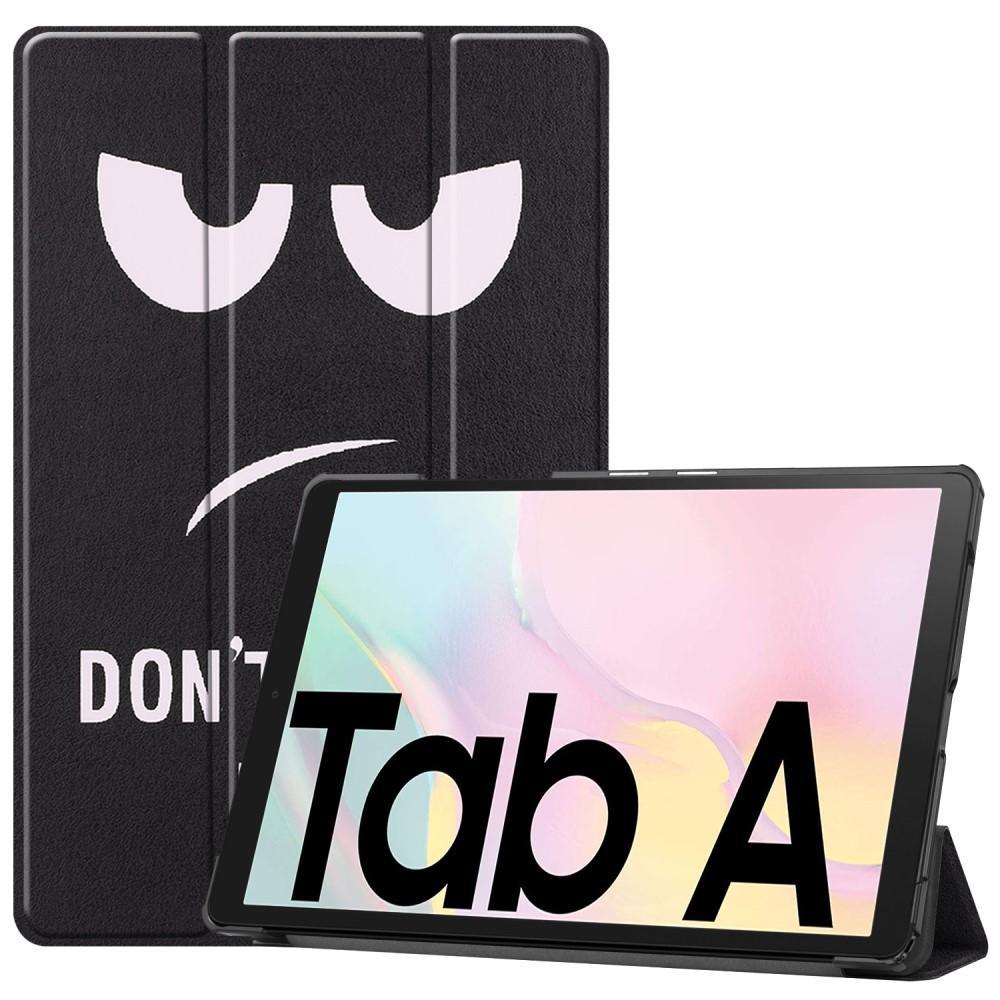 Fodral Tri-fold Samsung Galaxy Tab A7 10.4 2020 - Don't Touch Me