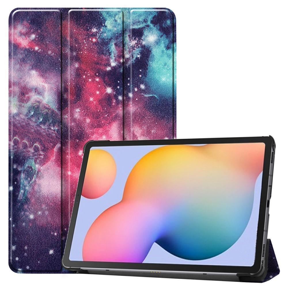 Fodral Tri-fold Samsung Galaxy Tab S6 Lite 10.4 - Rymd
