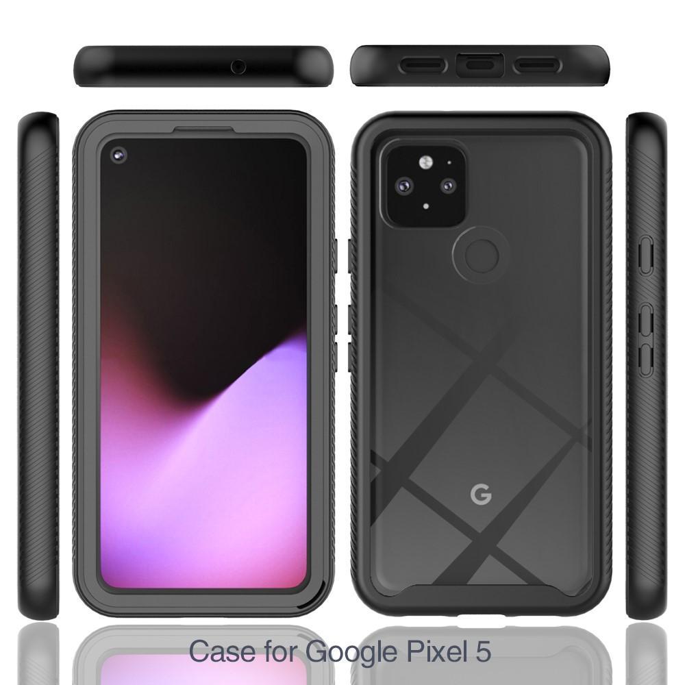Full Cover Skal Google Pixel 5 svart