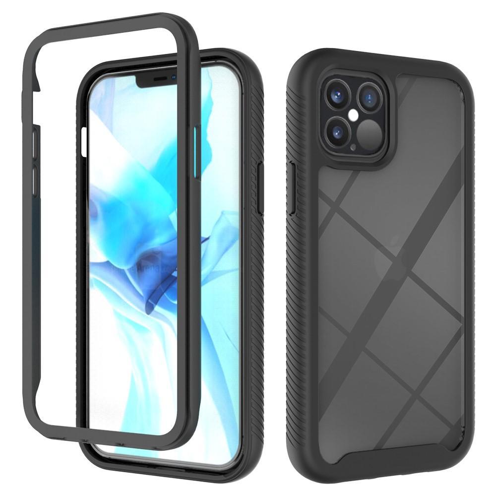 Full Cover Skal iPhone 12/12 Pro svart