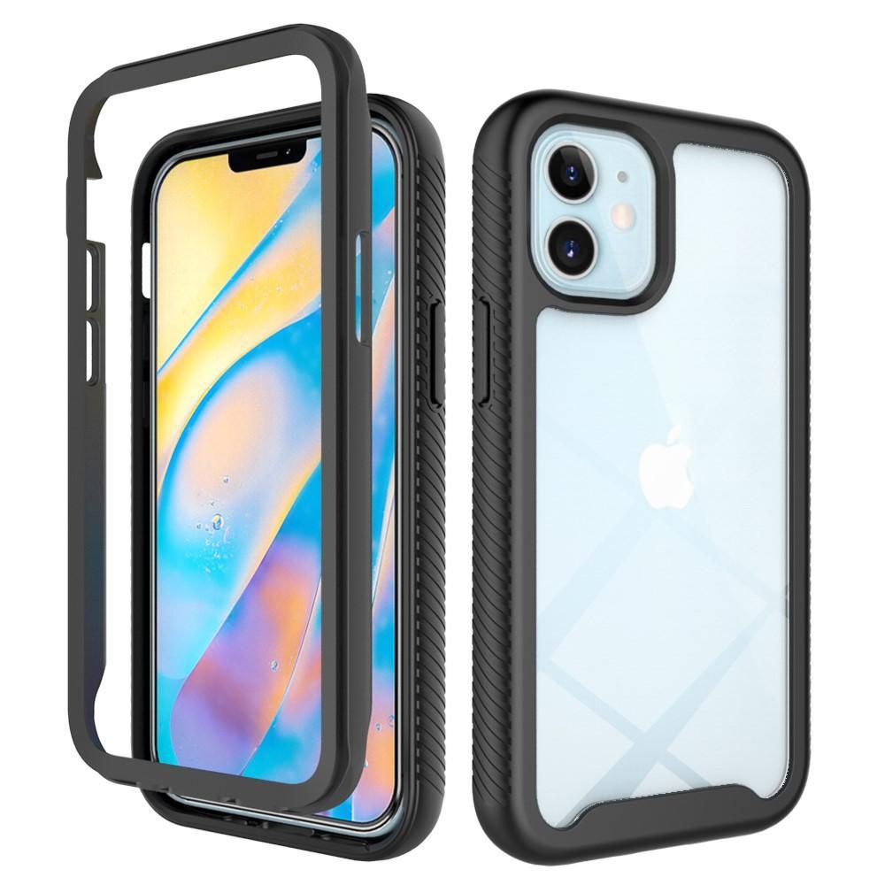 Full Cover Skal iPhone 12 mini svart