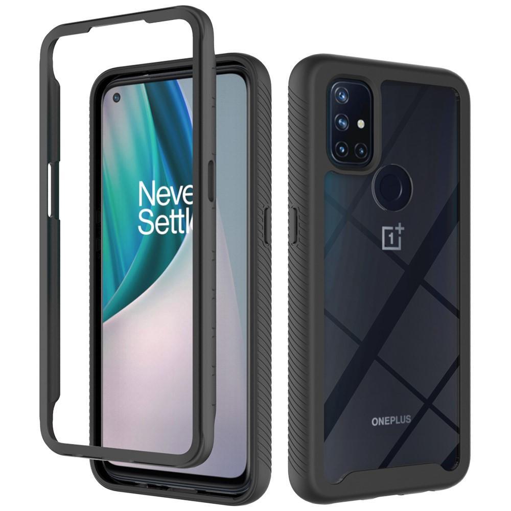 Full Cover Skal OnePlus Nord N10 5G svart