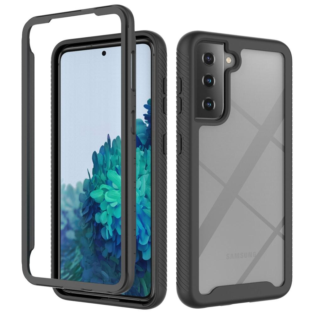 Full Cover Skal Samsung Galaxy S21 svart
