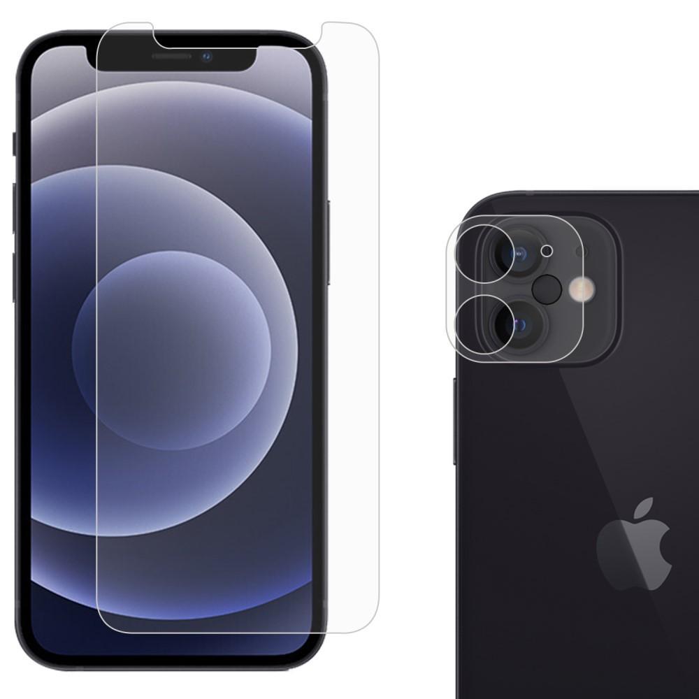 Härdat Glas Skärmskydd & Linsskydd iPhone 12