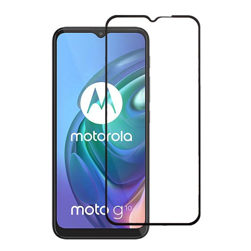 Heltäckande Härdat Glas Skärmskydd Motorola Moto G10/G20/G30