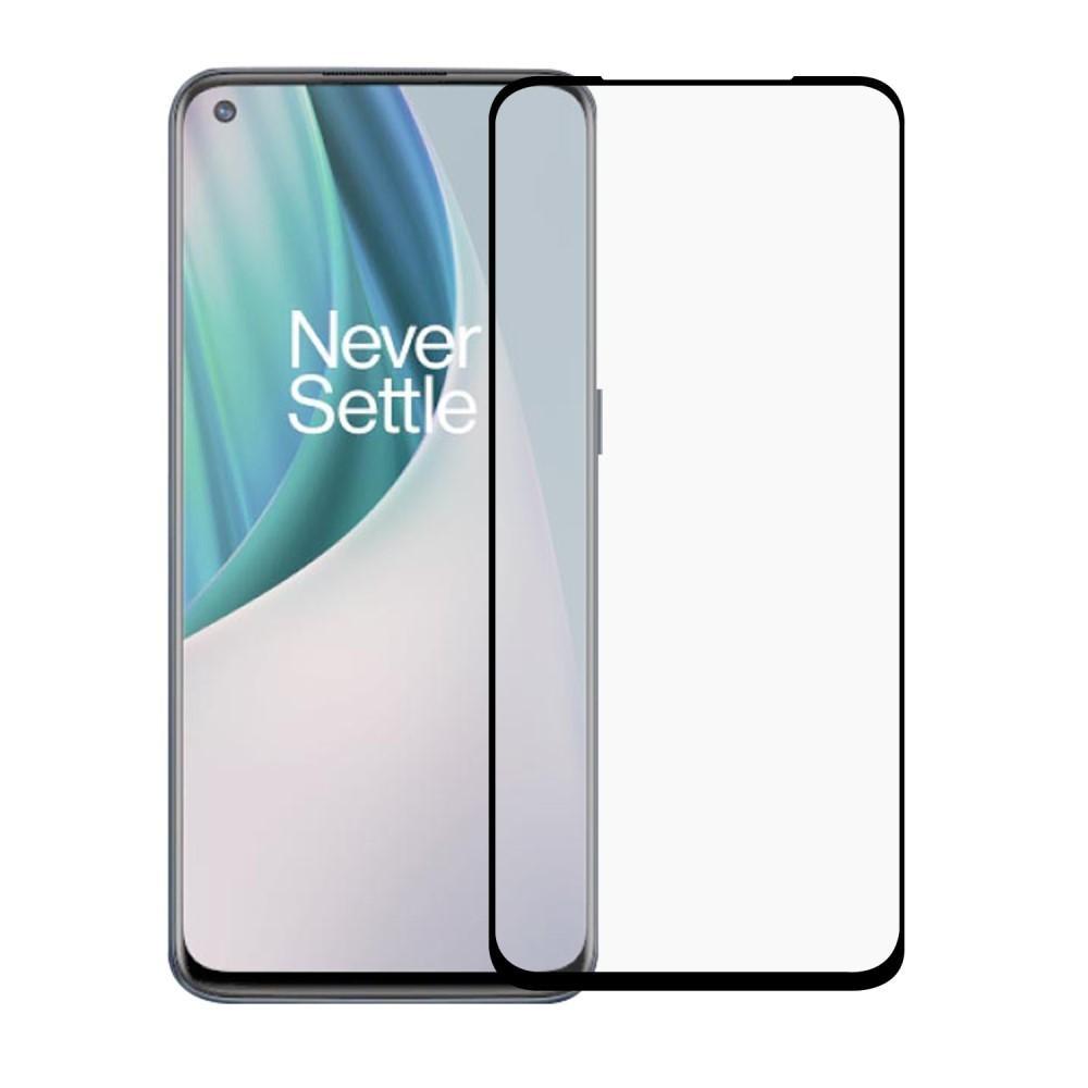 Heltäckande Härdat Glas Skärmskydd OnePlus Nord N10 5G