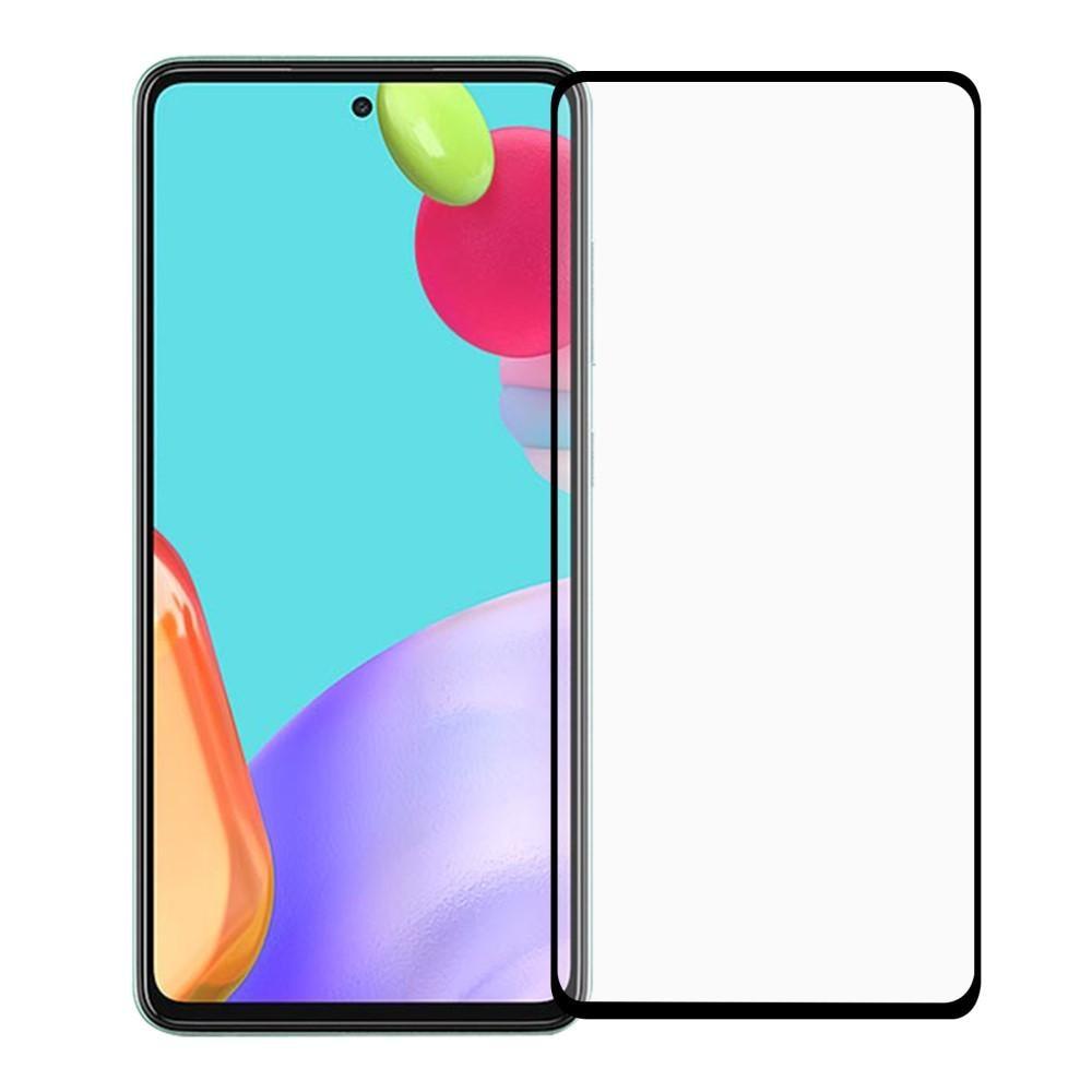 Heltäckande Härdat Glas Skärmskydd Samsung Galaxy A52 5G