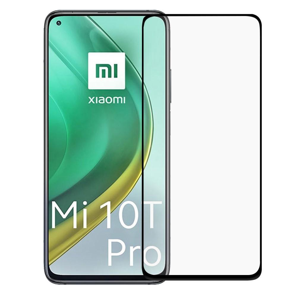 Heltäckande Härdat Glas Skärmskydd Xiaomi Mi 10T/10T Pro svart