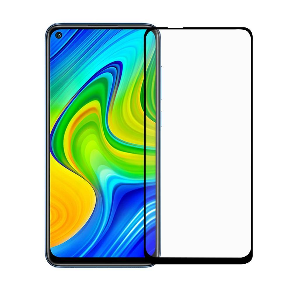 Heltäckande Härdat Glas Skärmskydd Xiaomi Redmi Note 9 5G
