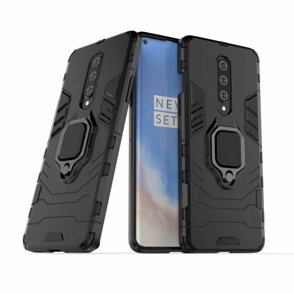 Hybridskal Tech Ring OnePlus 8 svart
