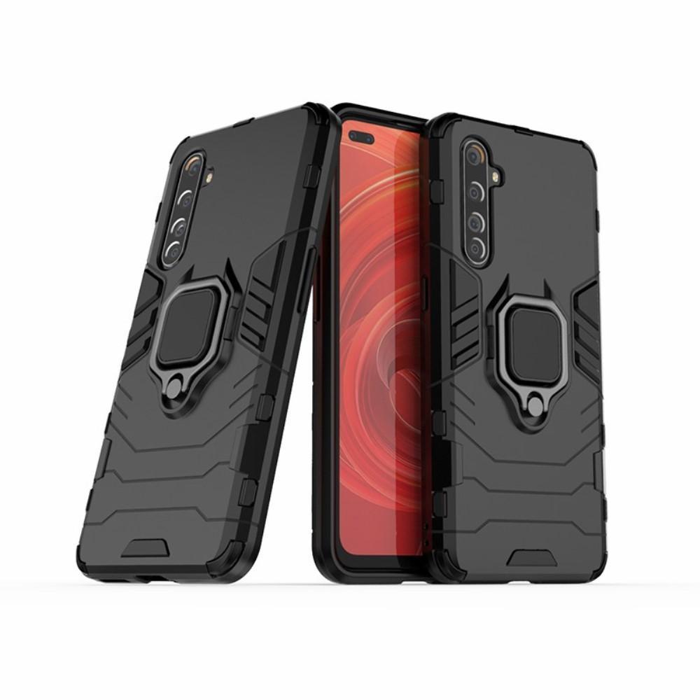 Hybridskal Tech Ring Realme X50 Pro 5G svart