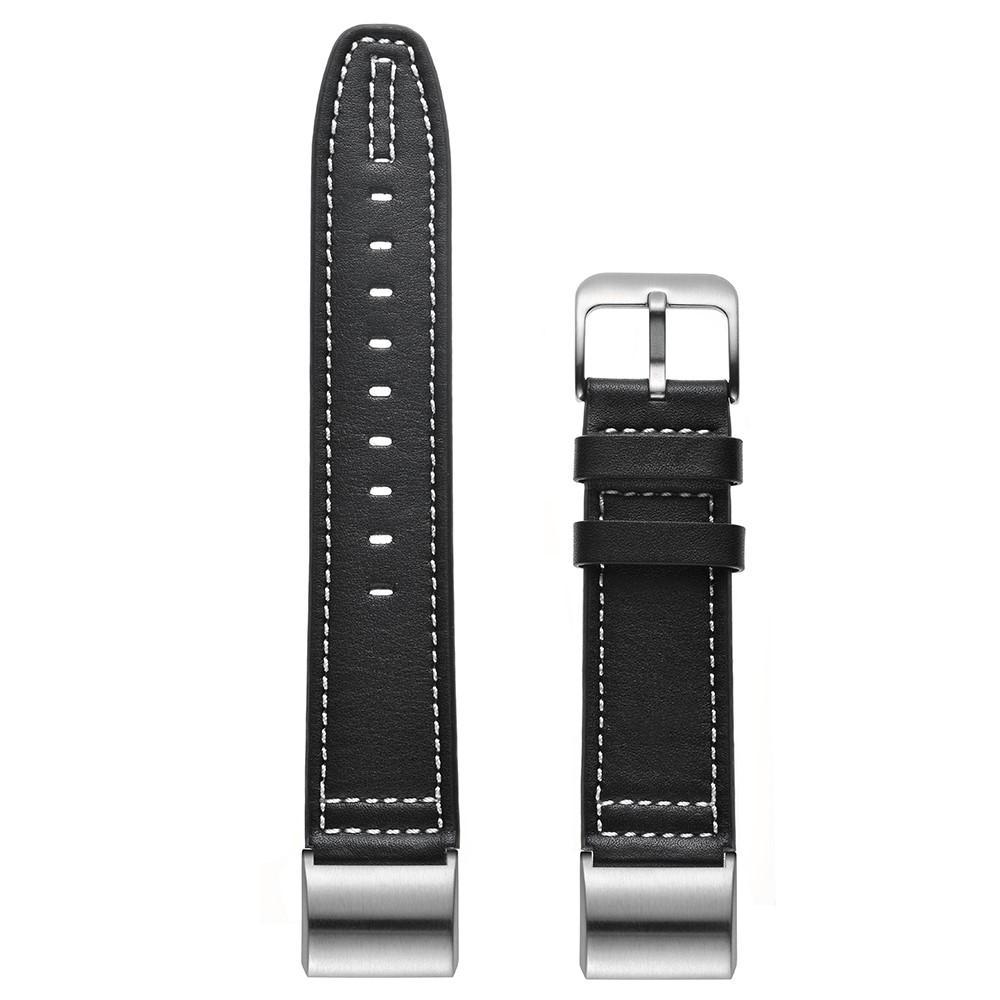 Läderarmband Fitbit Charge 2 svart