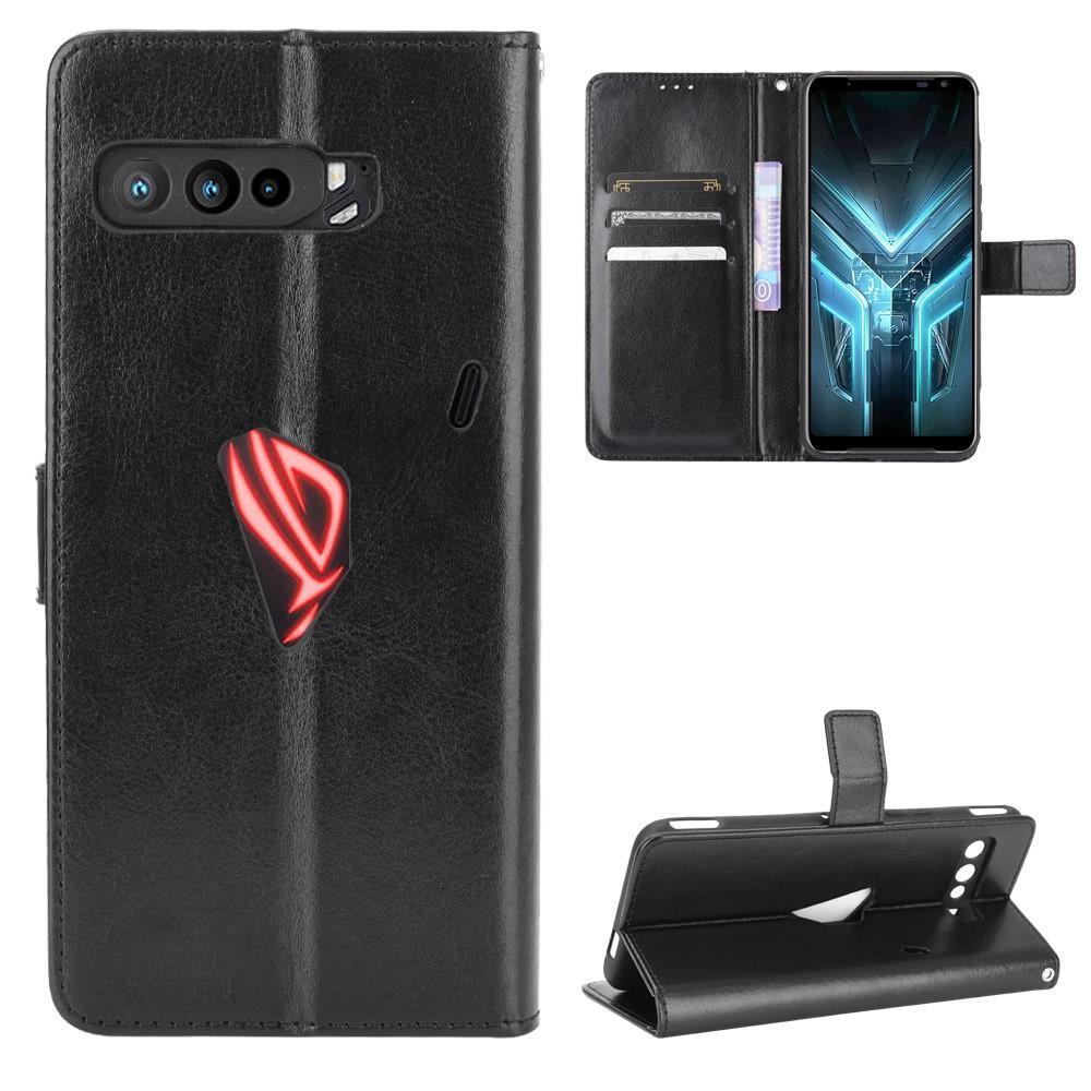 Läderplånbok Asus ROG Phone 3 svart