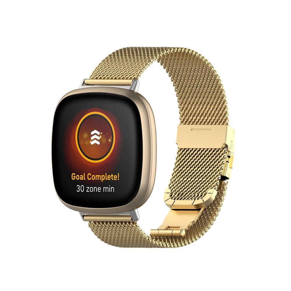 Mesh Bracelet Fitbit Versa 3/Sense Guld