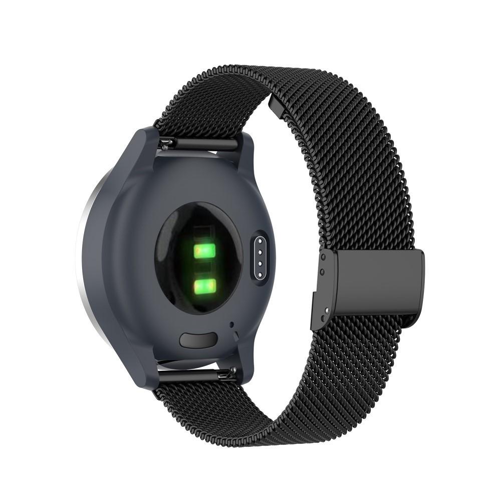 Mesh Bracelet Garmin Vivoactive 4s/Venu 2s Black