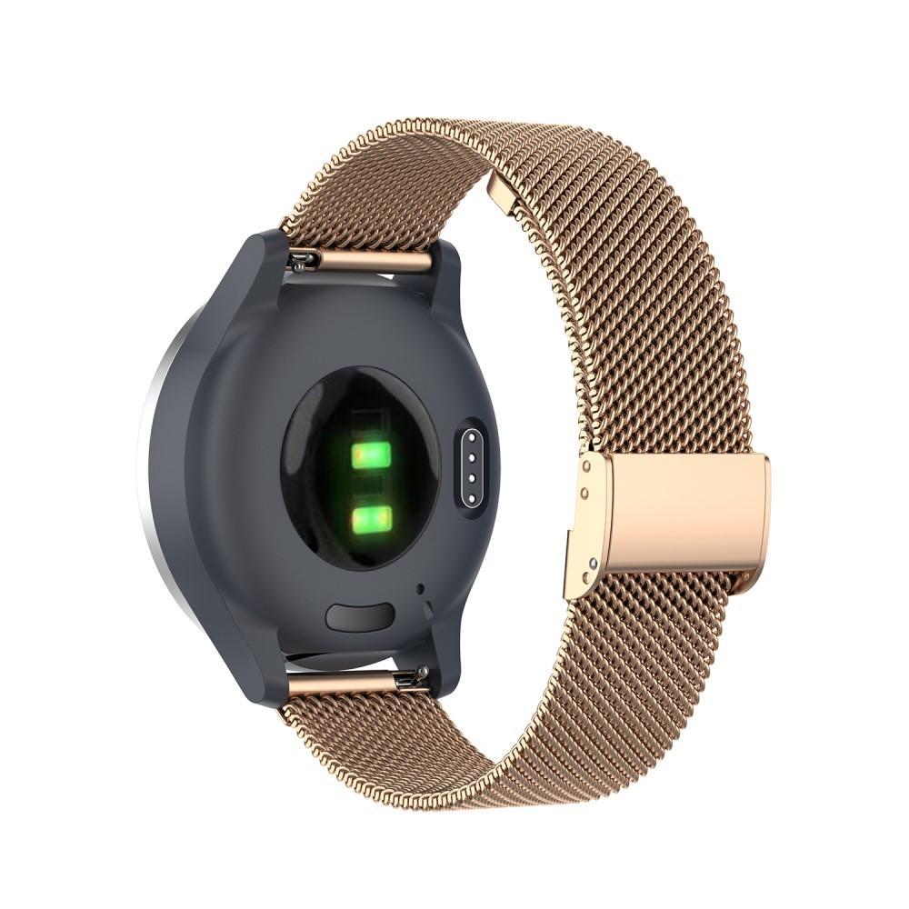 Mesh Bracelet Garmin Vivoactive 4s/Venu 2s Rose Gold