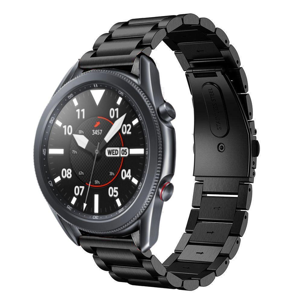 Metallarmband Samsung Galaxy Watch 4 40mm/Classic 42mm svart