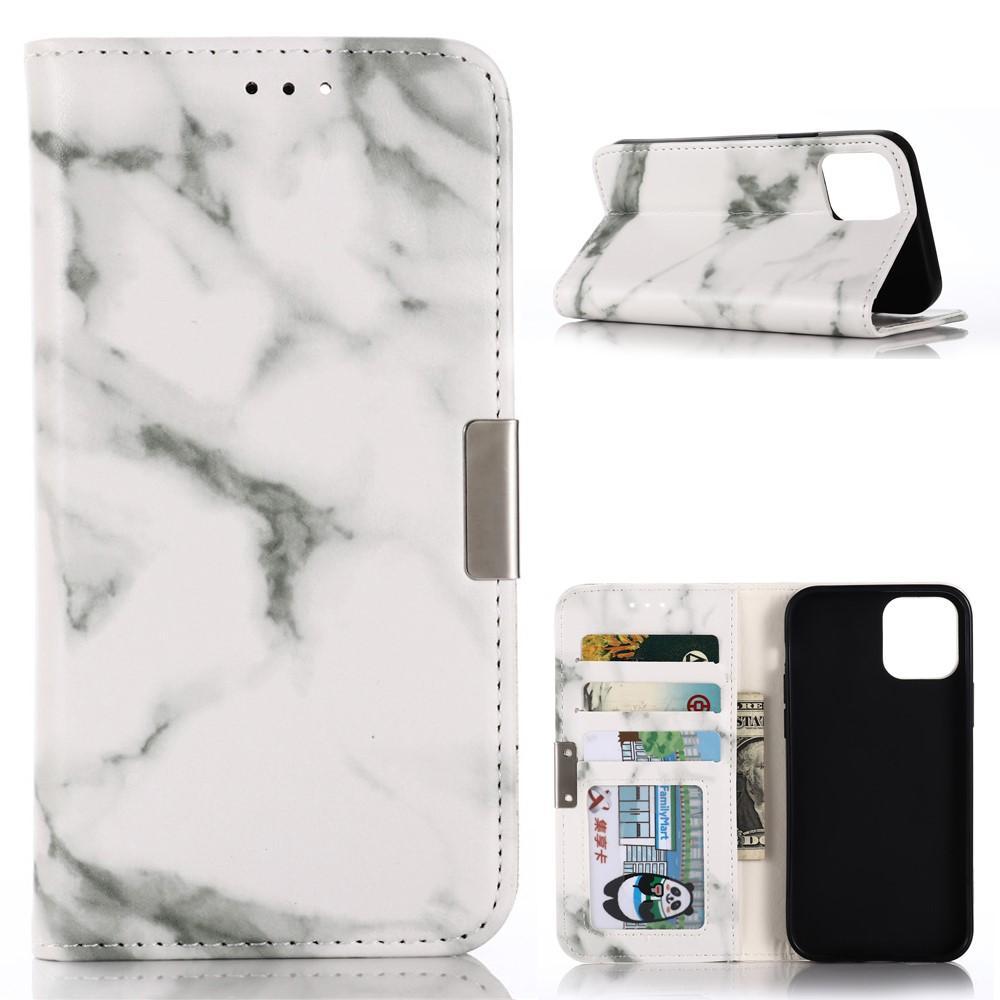 Mobilfodral Apple iPhone 12/12 Pro Vit Marmor