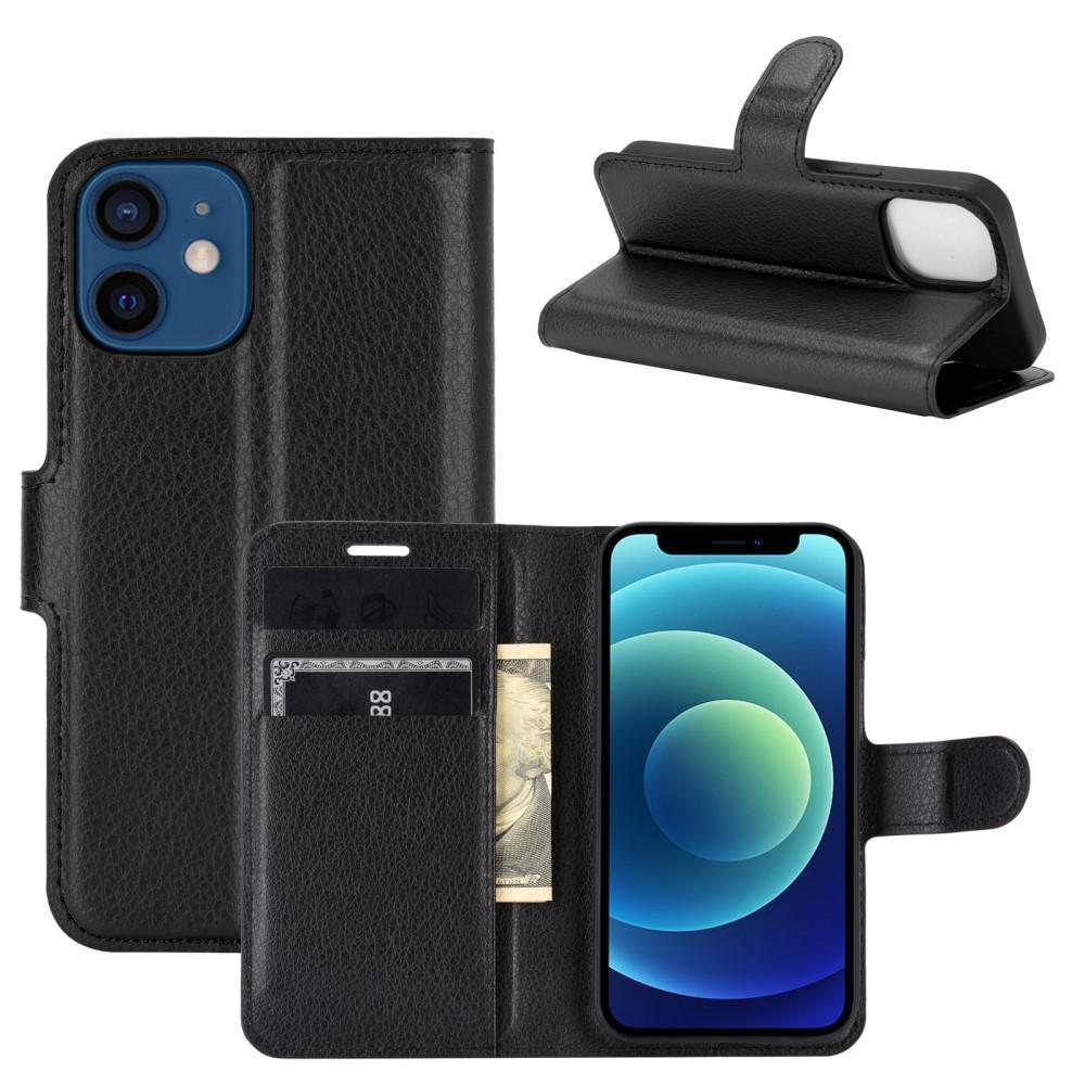 Mobilfodral Apple iPhone 12 Mini svart