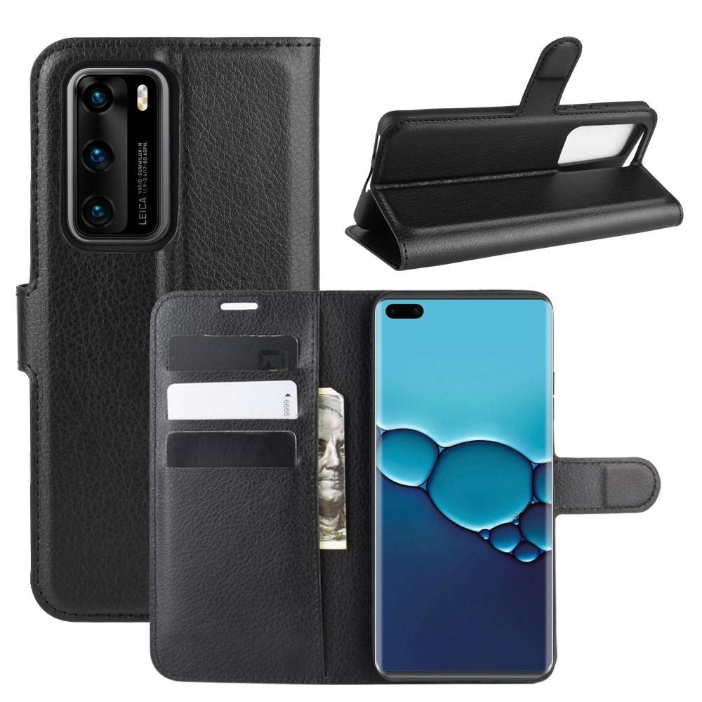 Mobilfodral Huawei P40 svart