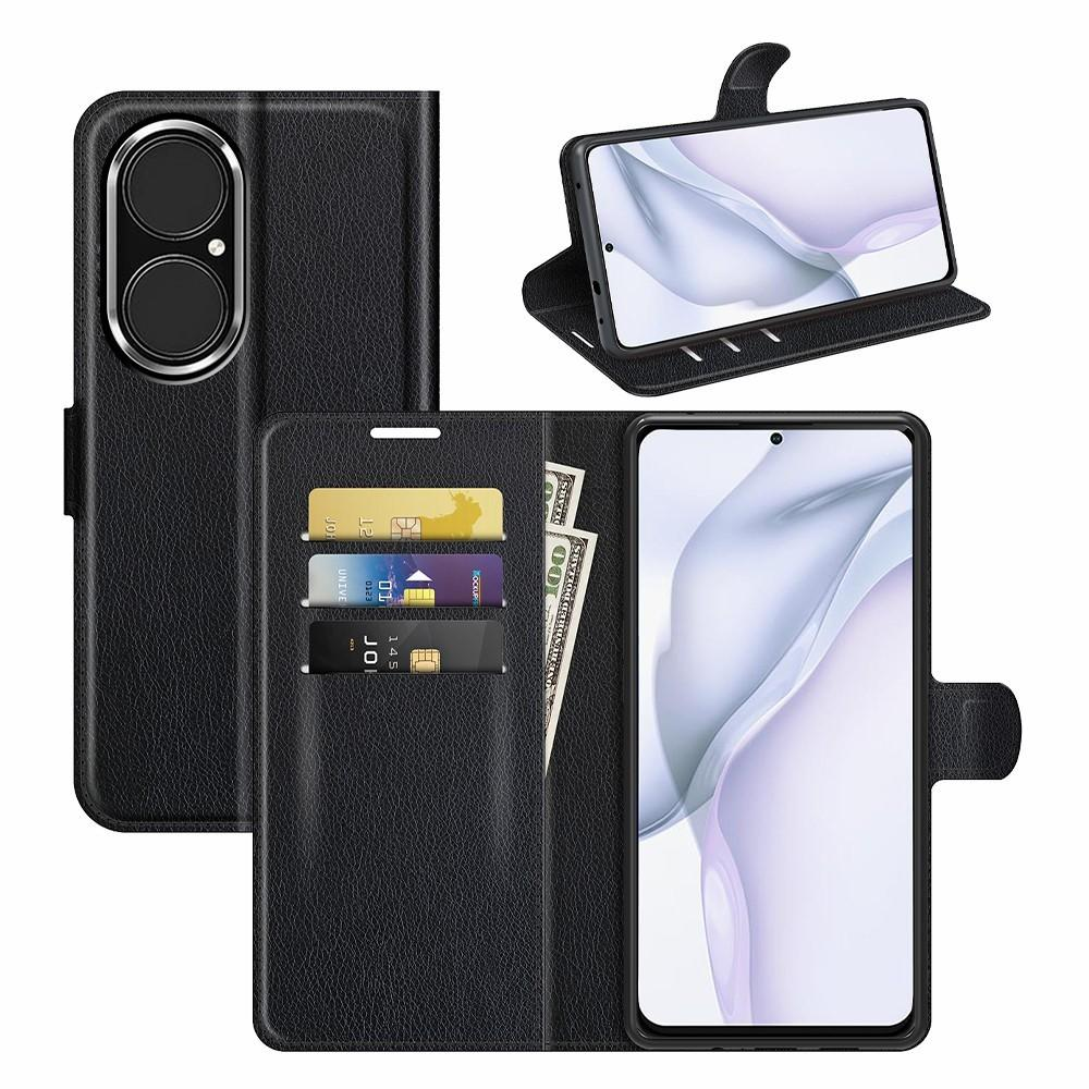 Mobilfodral Huawei P50 svart