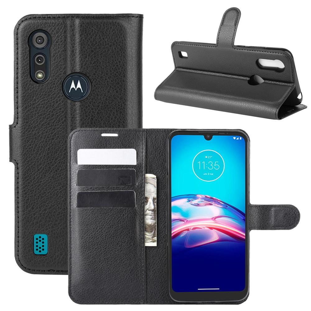 Mobilfodral Motorola Moto E6s svart