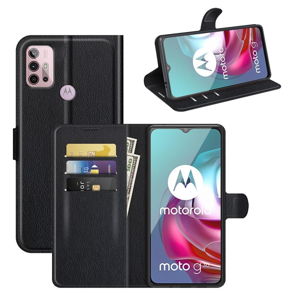 Mobilfodral Motorola Moto G10/G20/G30 svart