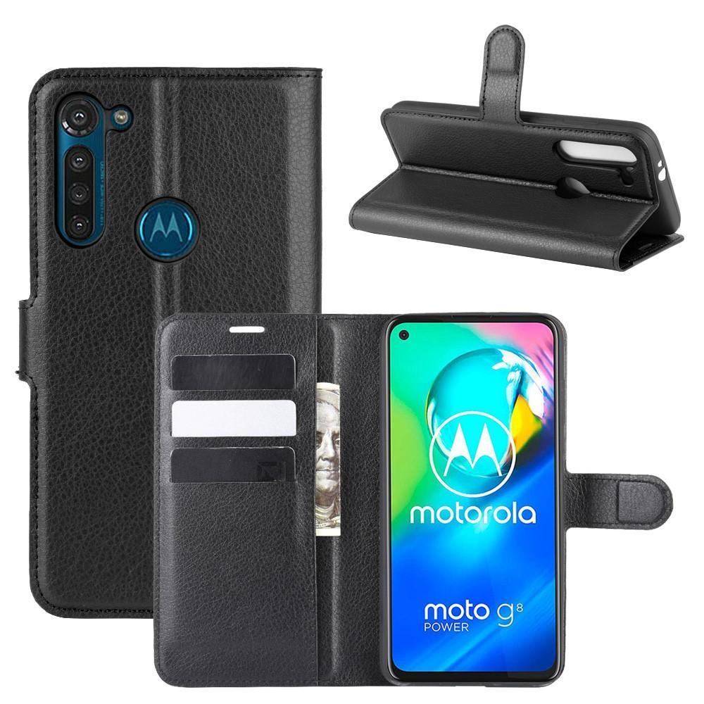 Mobilfodral Motorola Moto G8 Power svart