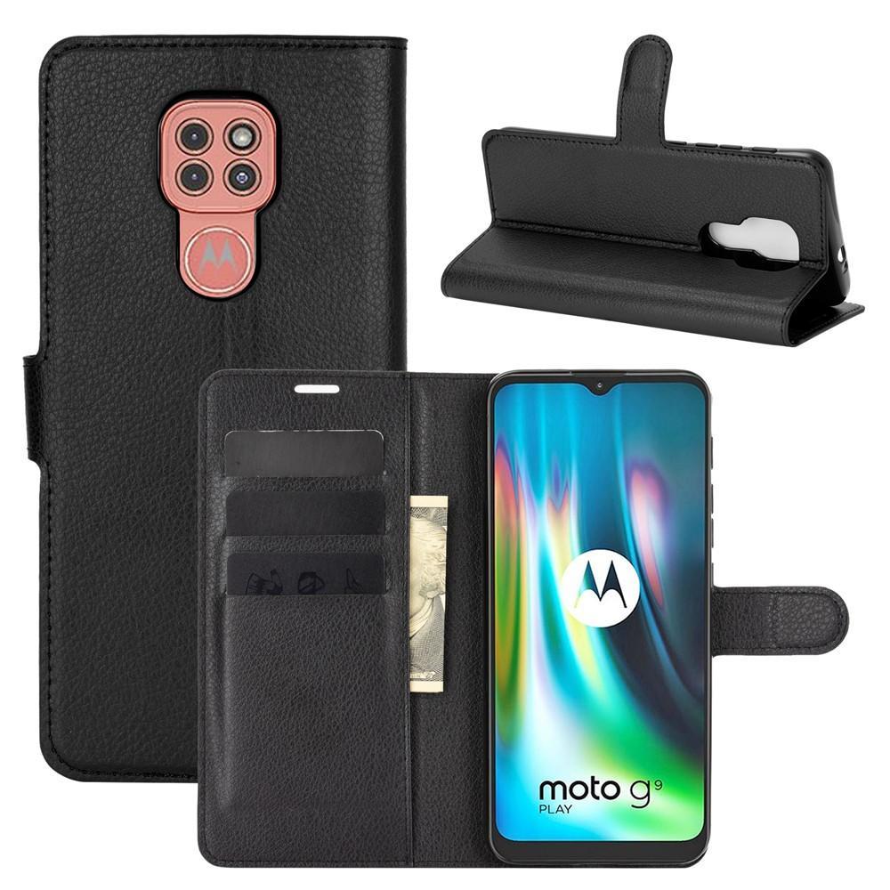 Mobilfodral Motorola Moto G9 Play svart