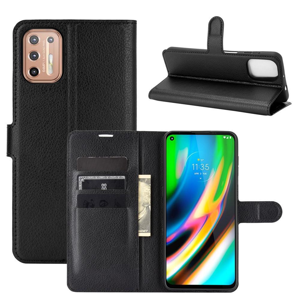 Mobilfodral Motorola Moto G9 Plus svart