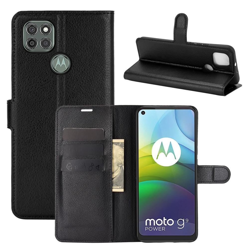 Mobilfodral Motorola Moto G9 Power svart