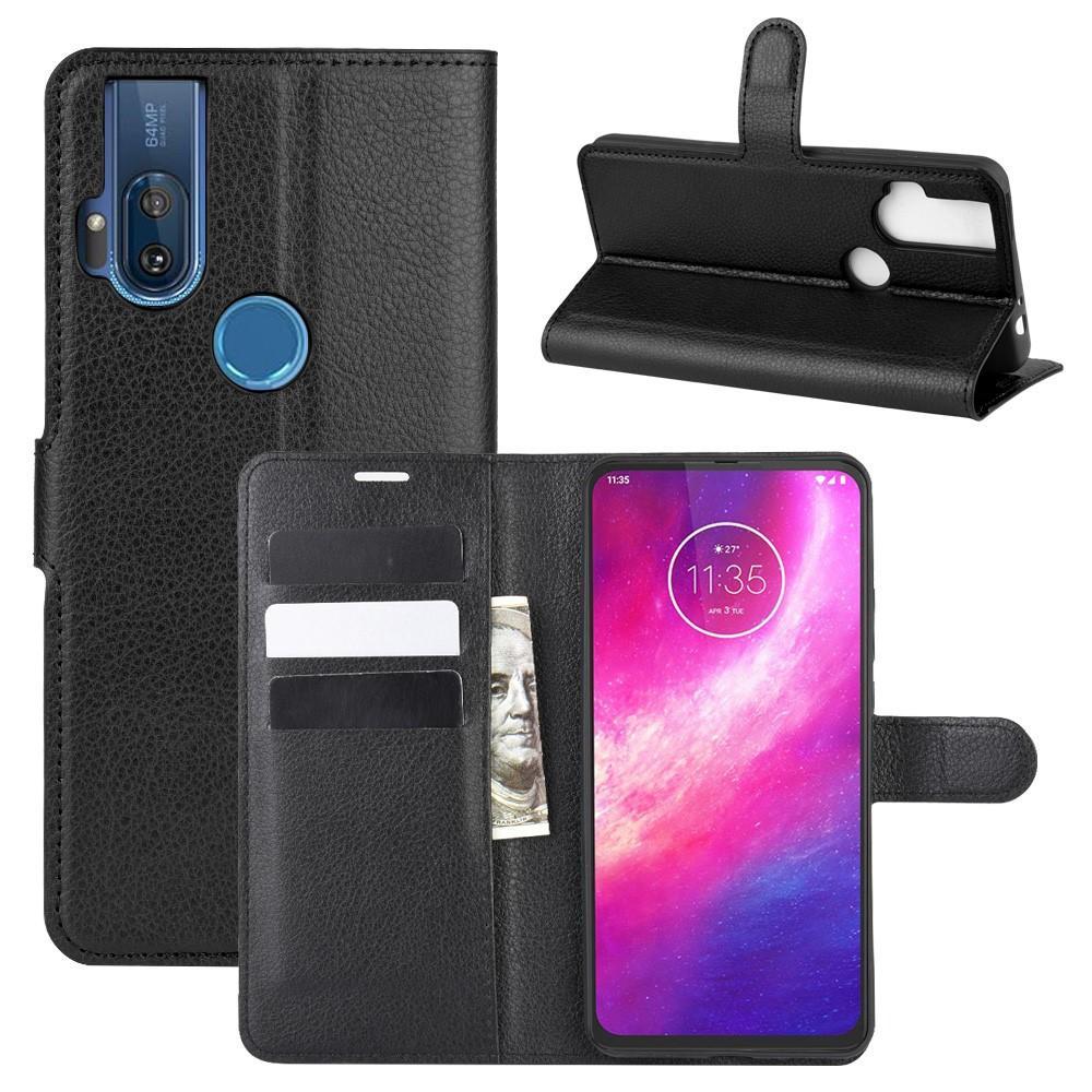 Mobilfodral Motorola One Hyper svart