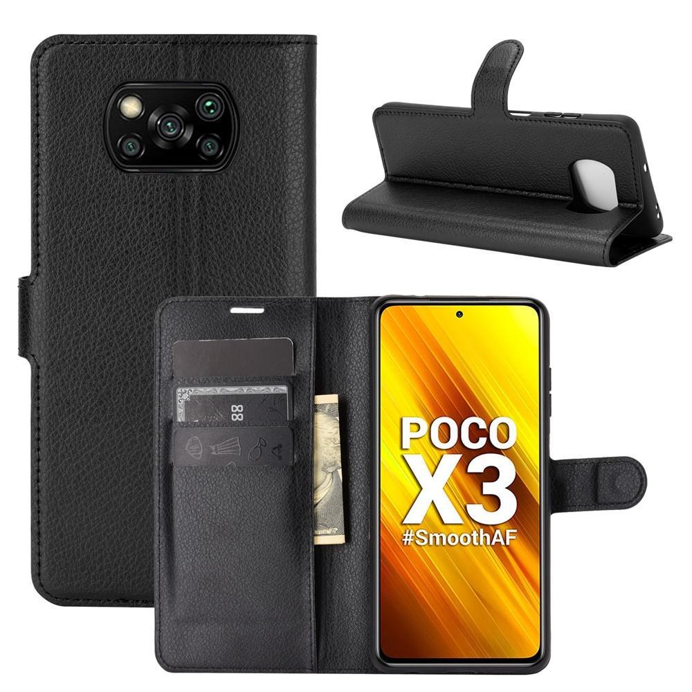 Mobilfodral Poco X3 NFC svart