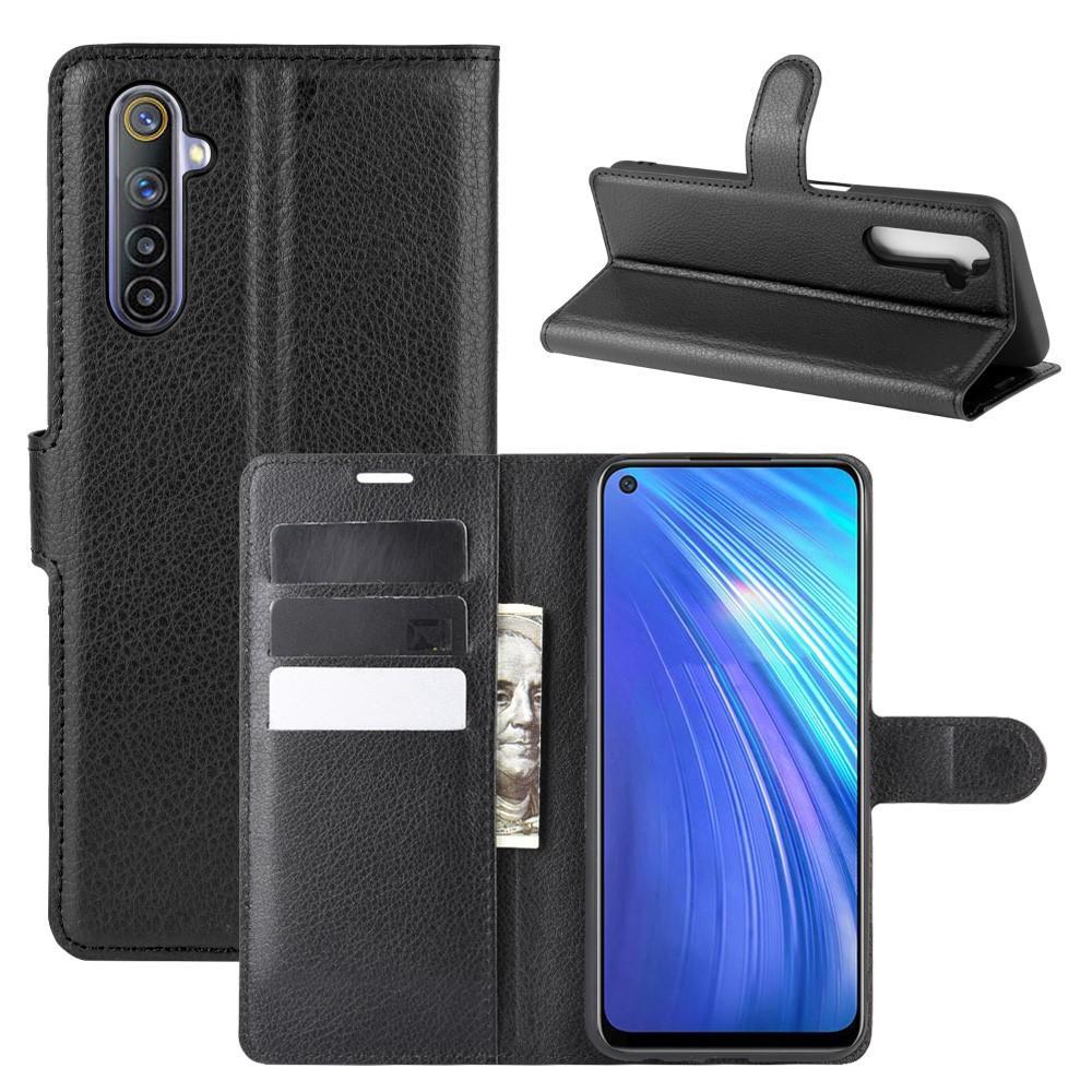 Mobilfodral Realme 6 svart