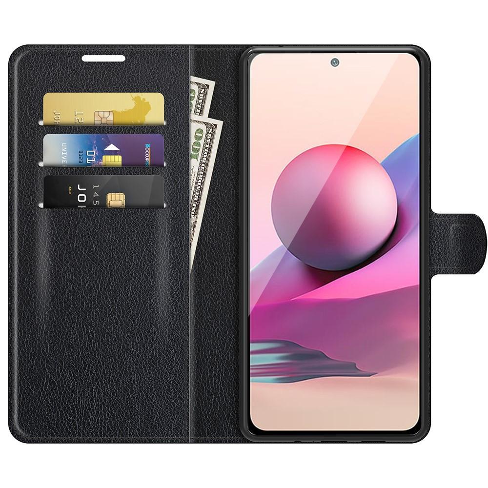 Mobilfodral Redmi Note 10/Note 10S svart