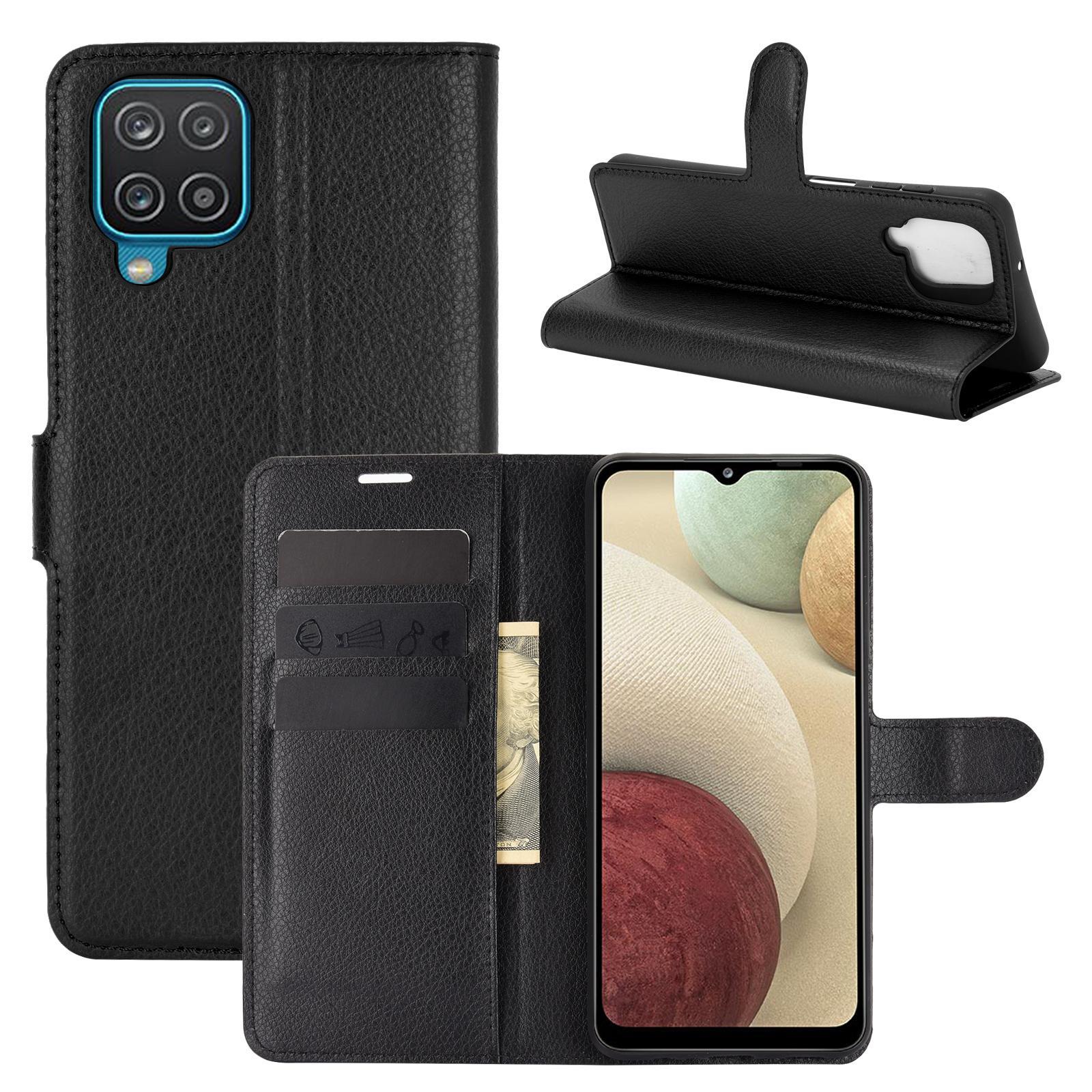 Mobilfodral Samsung Galaxy A12 svart