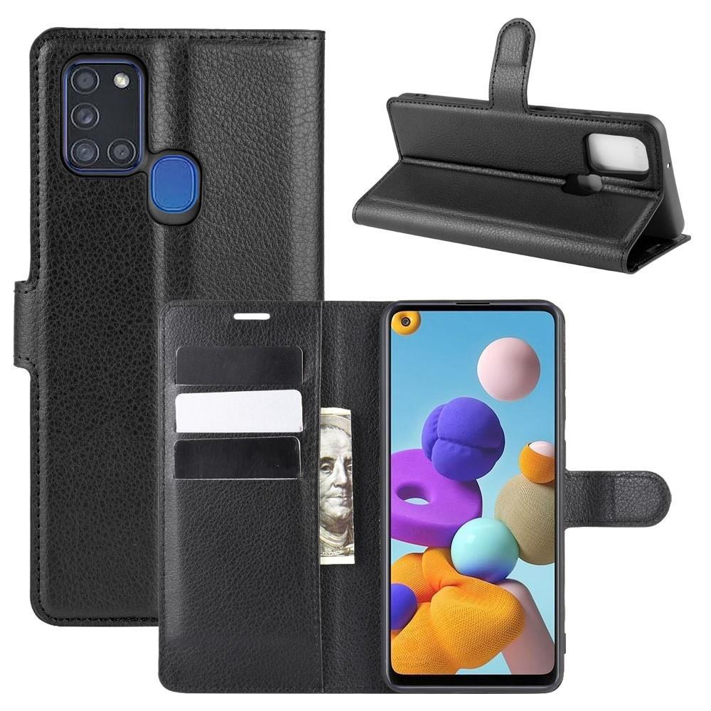 Mobilfodral Samsung Galaxy A21s svart