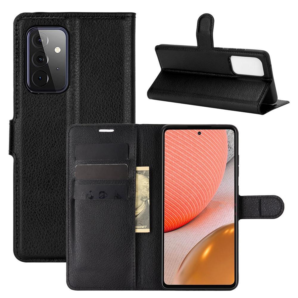Mobilfodral Samsung Galaxy A72 5G svart