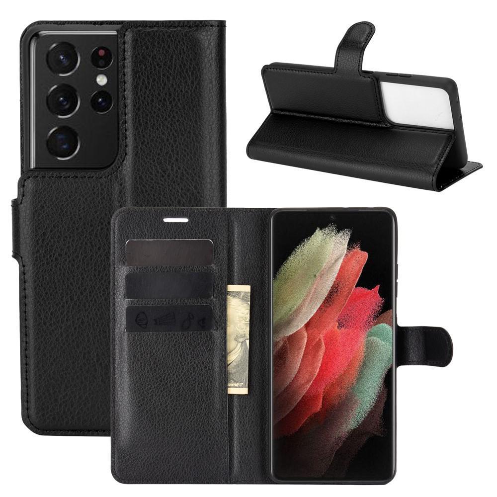 Mobilfodral Samsung Galaxy S21 Ultra svart