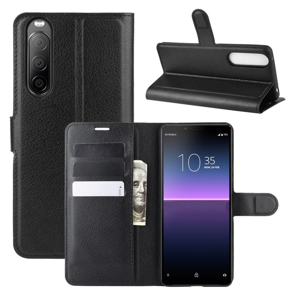 Mobilfodral Sony Xperia 10 II svart