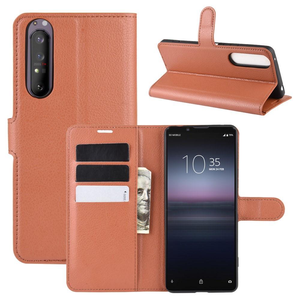 Mobilfodral Sony Xperia 1 II brun