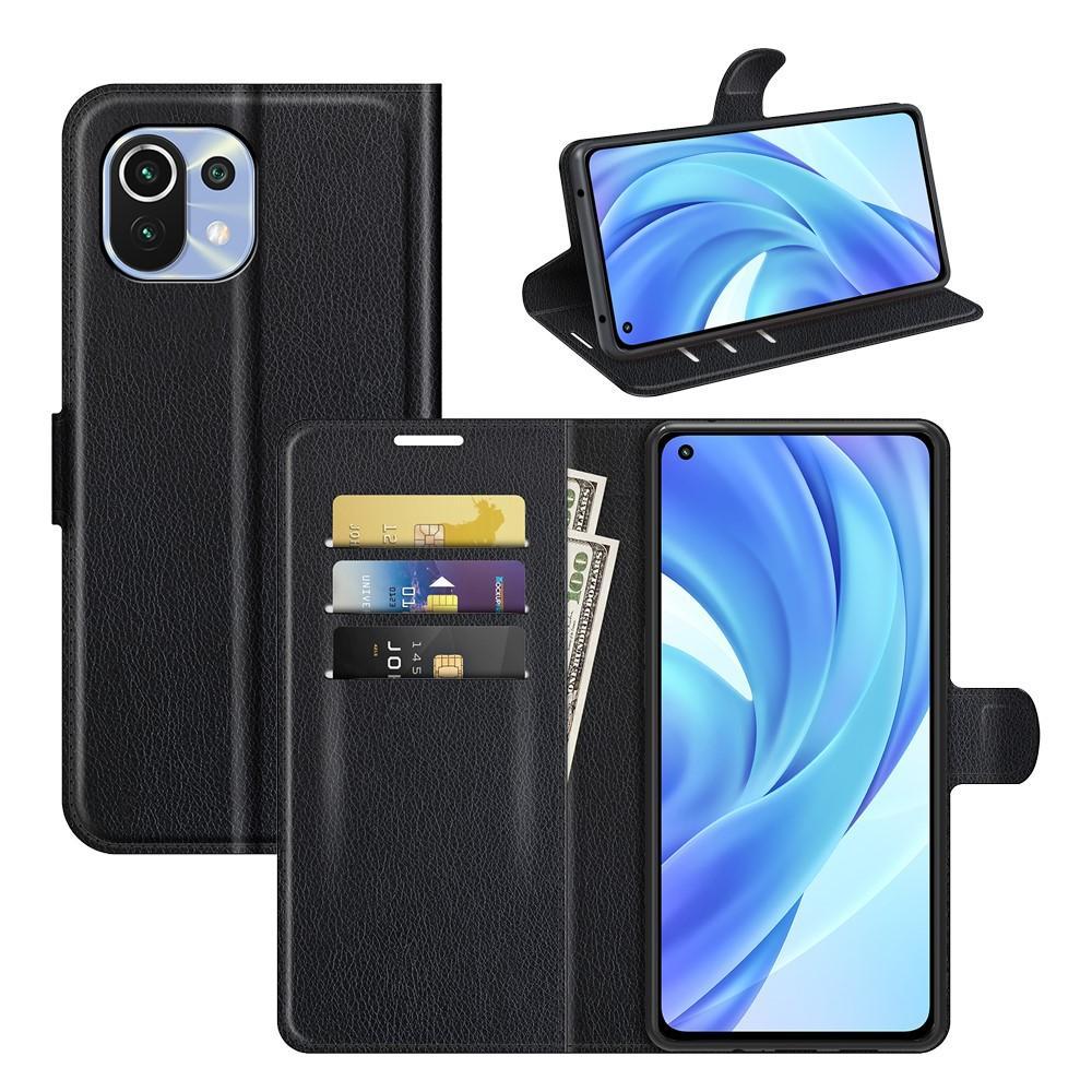 Mobilfodral Xiaomi Mi 11 Lite 5G svart