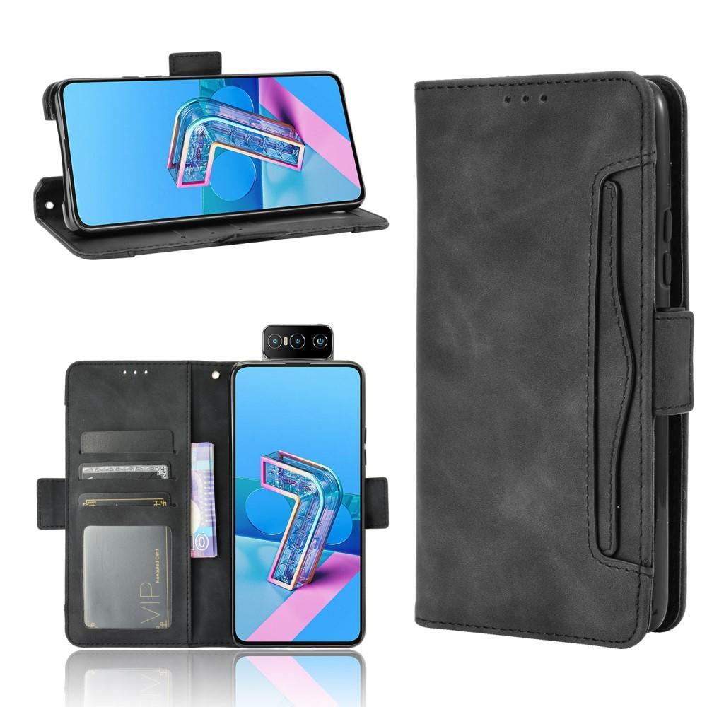 Multi Plånboksfodral Asus ZenFone 7/7 Pro svart