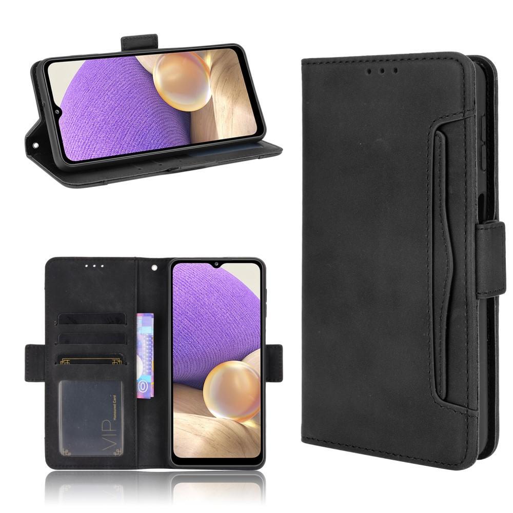 Multi Plånboksfodral Galaxy A32 5G svart