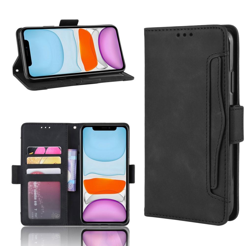 Multi Plånboksfodral iPhone 12 Mini svart