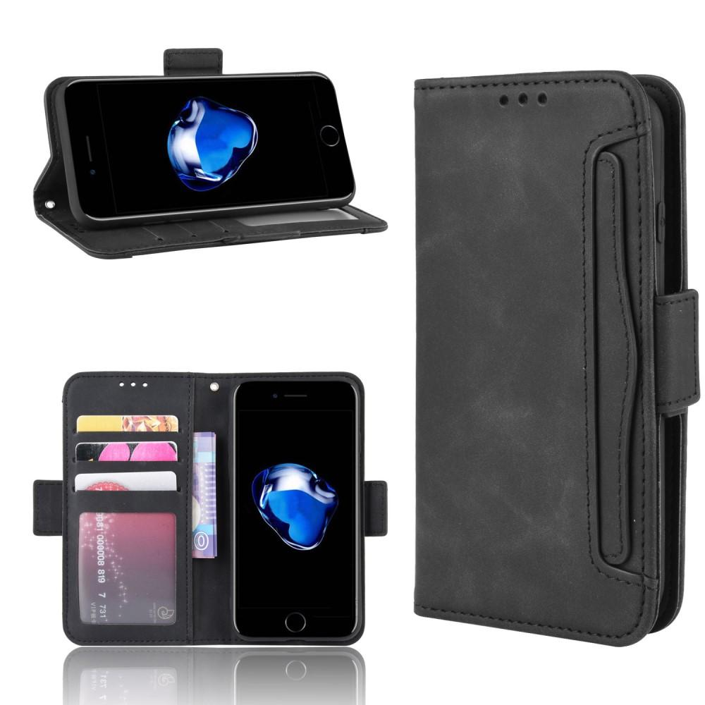 Multi Plånboksfodral iPhone 7/8/SE 2020 svart