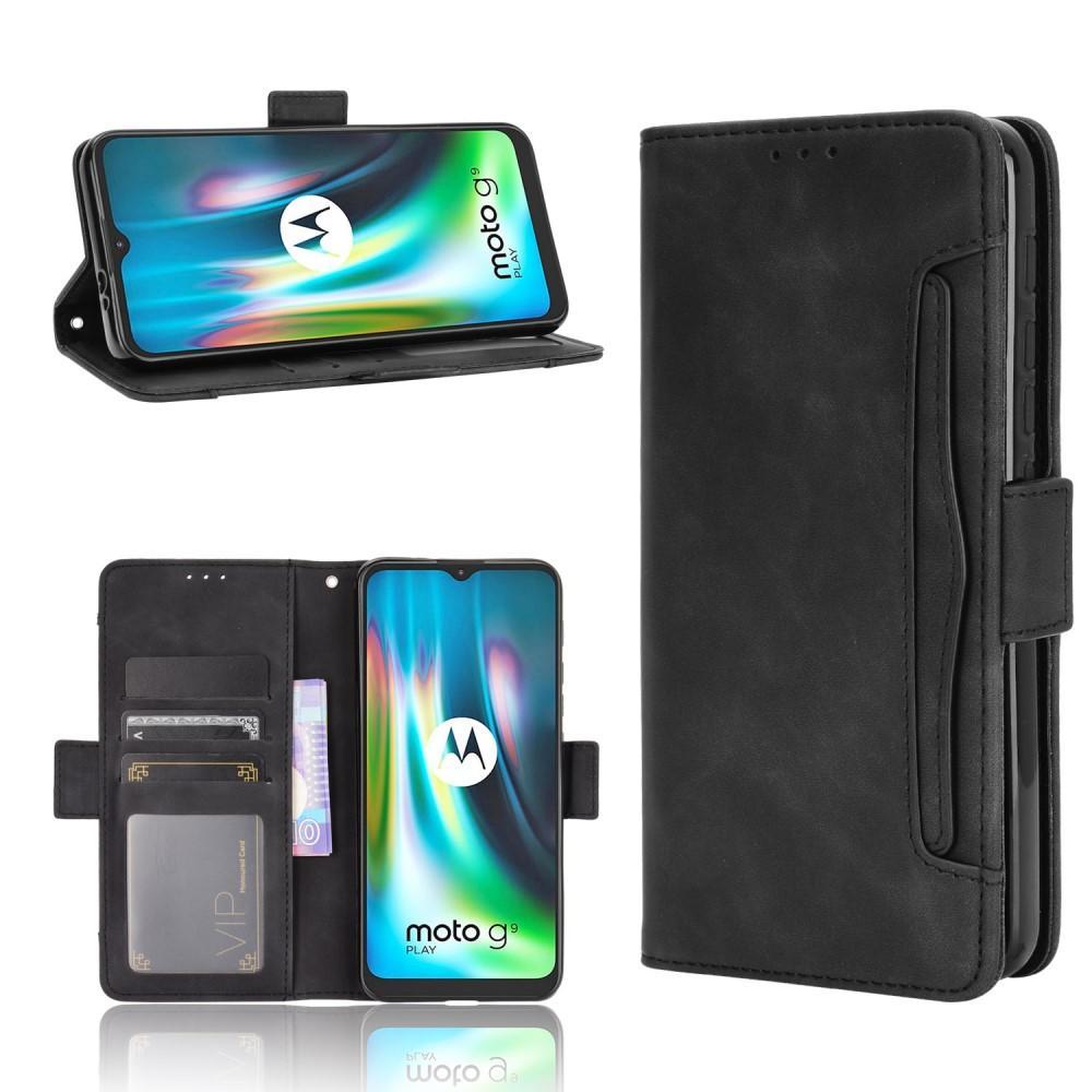 Multi Plånboksfodral Motorola Moto E7 Plus svart