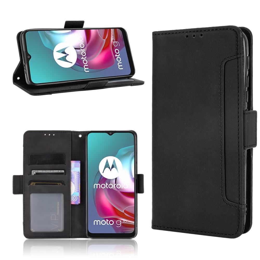 Multi Plånboksfodral Motorola Moto G10/G20/G30 svart